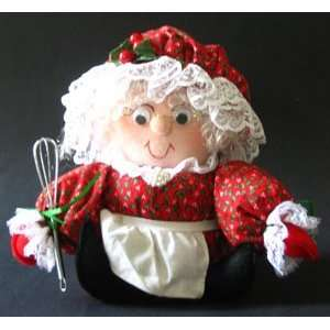 Mrs. Santa Claus Handmade Doll Toys & Games