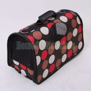 Polka dot Pet Dog Cat Travel Carrier PORTABLE Pet Carrier