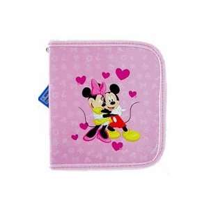 Disney Mickey & Minnie Cd DVD Wallet case  In Love Electronics