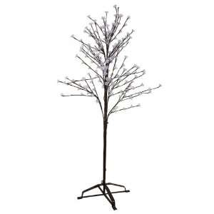 Garden LED Lighted Cherry Blossom Flower Tree   Cool White Lights