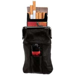 Embassy Leather Cigarett/Lighter Case