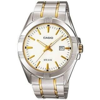 Casio Mens MTP1308SG 7AV Silver Stainless Steel Quartz Watch with