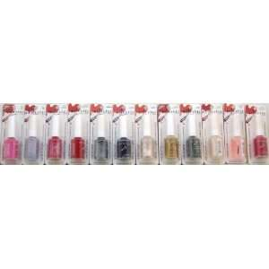 Closeouts 556 Assorted Colors of Nail enamel Case of 144 Beauty