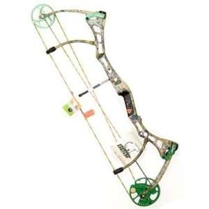 Fred Bear Archery Truth II Compound Bow, Camo, Left Handed, 28, 60