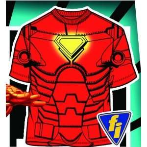 Mens Iron Man Costume T Shirt Large Size Toys & Games
