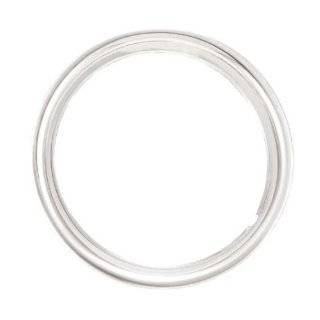 16 Chrome ABS Trim Rings Set 1 3/4 Depth Beauty Rings