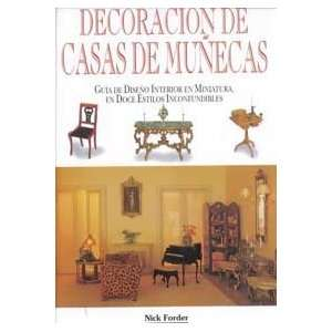 Decoracion De Casas De Munecas: Guia De Diseno Interior En