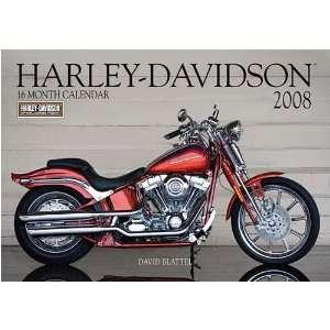 Harley Davidson 2008 Deluxe Wall Calendar