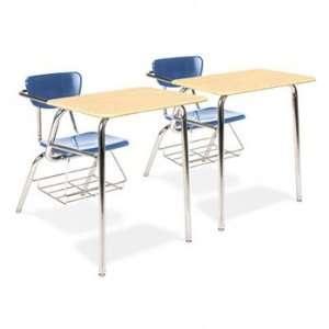 Virco Martest 21® 3400 Series Chair Desks DESK,CHAIR