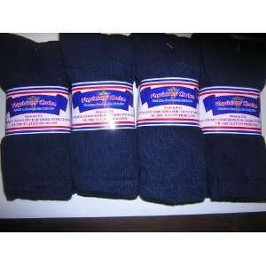 Diabetic Socks,12 Pair,navy Color,plus Size 13 15,crew