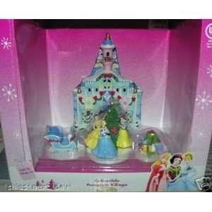 4 Piece Disney Multi Princess Cinderella, Snow White, and