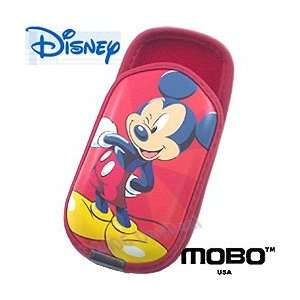 Red Disney Mickey Mouse Belt Clip Carrying Case (#4) Cell