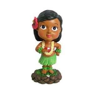 Mini Bobble Head Doll Keiki Pose   Hawaii dashboard dolls
