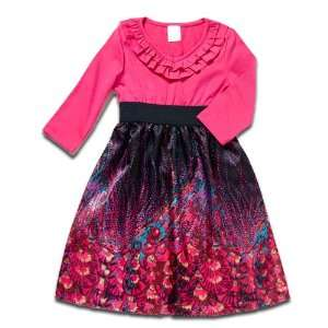 My Twinn Dolls Black Satin Print Dress Outfit Toys & Games