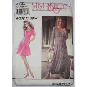 Easy to sew pattern Dress Arts, Crafts & Sewing