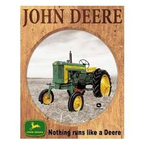John Deere Farm Tractor tin sign #919