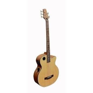 Boulder Creek EBR3 N5 Acoustic Electric 5 String Bass, Cutaway, Cedar