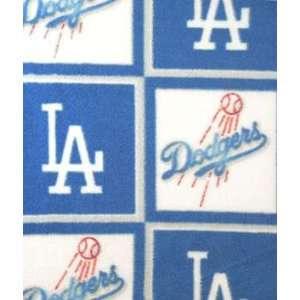 Los Angeles Dodgers Fleece Fabric: Arts, Crafts & Sewing