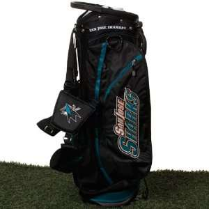 NHL San Jose Sharks Fairway Stand Golf Bag   Black