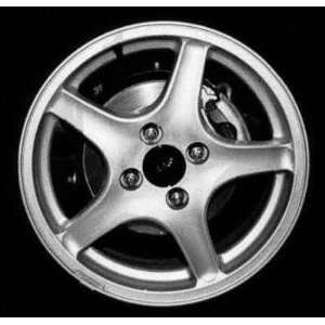 98 00 FORD CONTOUR ALLOY WHEEL RIM 16 INCH, SILVER Diameter 16, Width