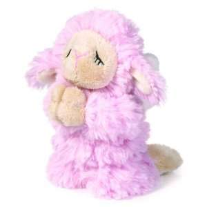 Praying Angel Lamb Plush   Lamb Stuffed Animal (Pink) Toys & Games