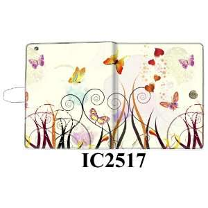 Flower Design Leather Protective Case / Folio / Cover with Stand