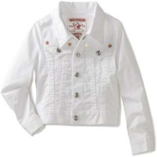 True Religion Girls 2 6X Emily Western Jacket: Clothing