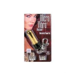 Micro vibro key chain, gold