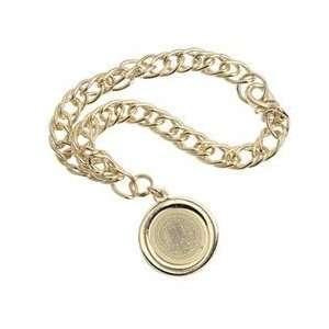 Cal   Charm Bracelet   Gold