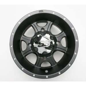 ITP SS108 12 in. Black Alloy Wheel 1228285536B