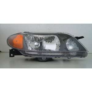 2001 03 MAZDA PROTEGE HEADLIGHT SEDAN METAL COAT BEZEL