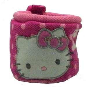 Hello Kitty Sanrio Cup Holder Pocket   Polka Dots