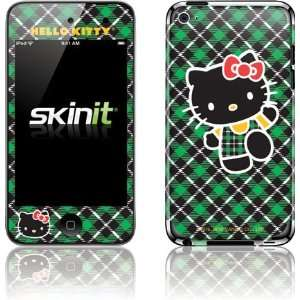 Hello Kitty Green Plaid skin for iPod Touch (4th Gen)