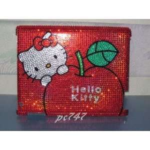 Hello Kitty Bling iPad 2 Hard Case Shell Red COLOR Cell Phones