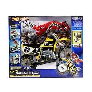 Hot Wheels Xtreme Moto Cross Cycle Digital Radio Control  Toys