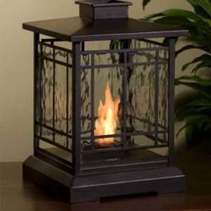 Personal Gel Indoor/Outdoor Table Top Fireplace Patio, Lawn & Garden