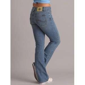 New Orleans Saints Womens Cheerleader Boot Jeans   Medium