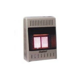 10,000 BTU Vent Free Natural Gas Infrared Wall Heater with Thermostat
