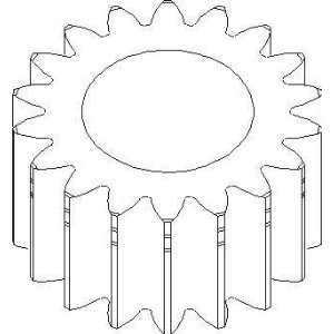 New John Deere Planetary Pinion Gear T21547 Fits JD 210C