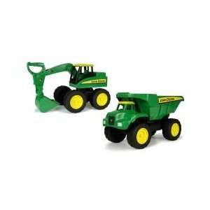 John Deere 15 Inch Big Scoop Tractor Set Toys & Games