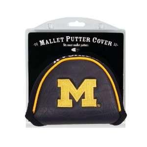 Michigan Wolverines Mallet Golf Putter Cover   Golf