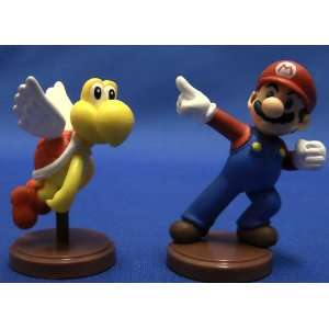 Furuta Super Mario Bros Mario Paratroopa Red Figure ( No Box ** Figure