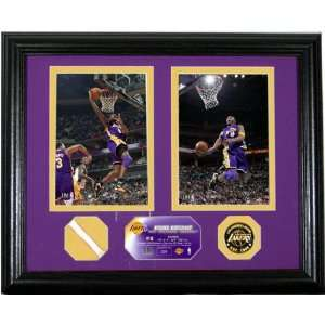 Kobe Bryant NBA All Star Photo Mint with Authentic Game