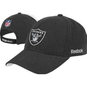 Black Sideline Wool Blend Structured Adjustable Hat
