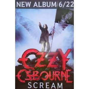 Ozzy Osbourne Musical Poster Single Sided Original 27x40