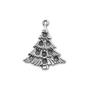 Christmas Tree Pendant with Rhinestone Settings Arts, Crafts & Sewing