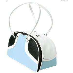 Turquoise/White Roxy Pet Carrier in Turquoise and White Size Small