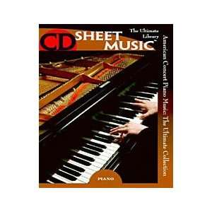 American Concert Piano Music (Version 2.0) Musical