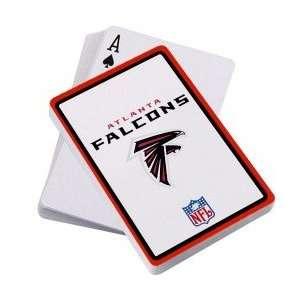 Atlanta Falcons Logo Playing Cards