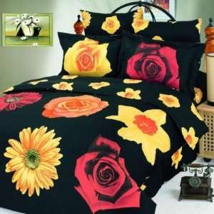 Piece Full / Queen Duvet Cover Bedding Set